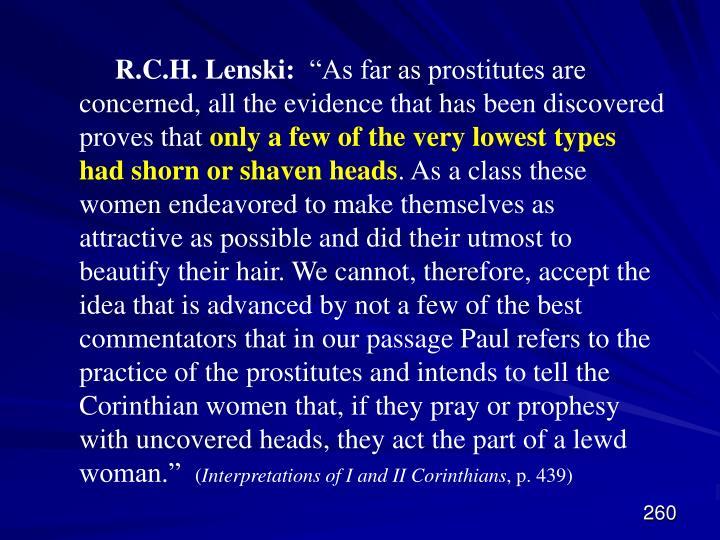 R.C.H. Lenski: