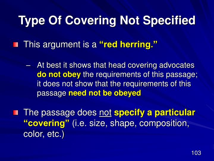 Type Of Covering Not Specified