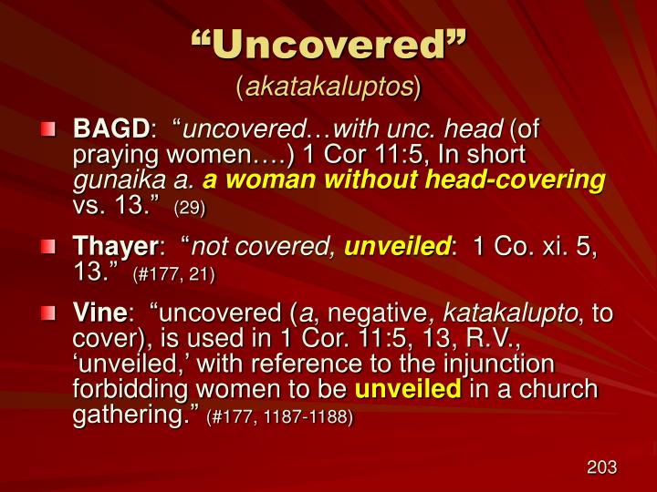 """""""Uncovered"""""""