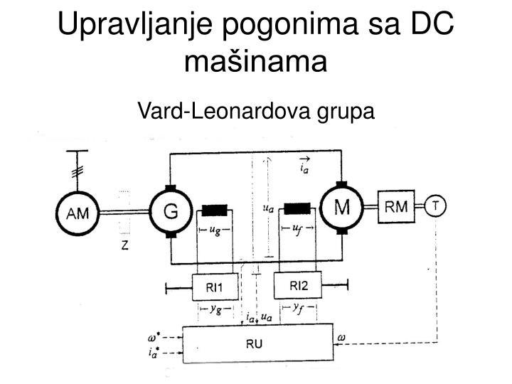 Upravljanje pogonima sa DC mašinama
