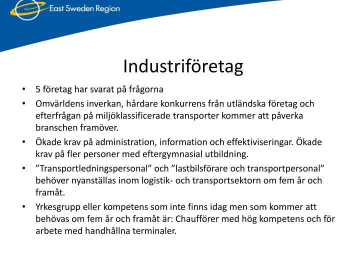 Industriföretag