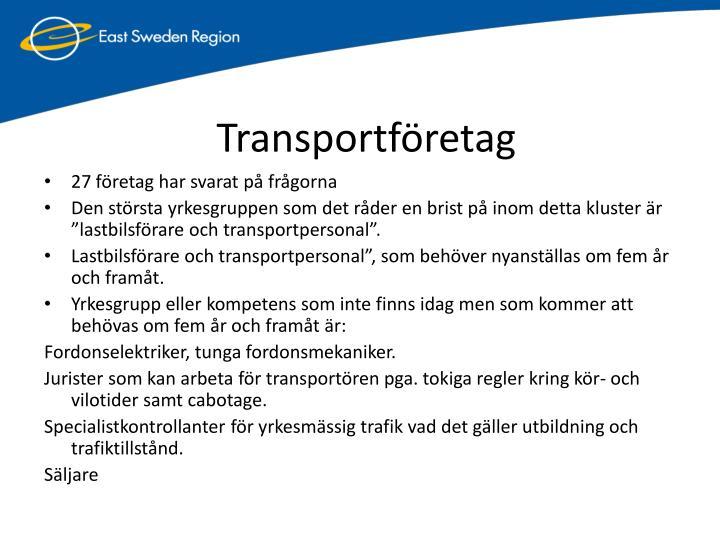 Transportföretag