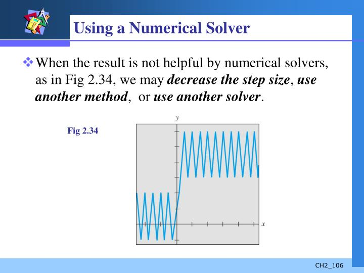 Using a Numerical Solver