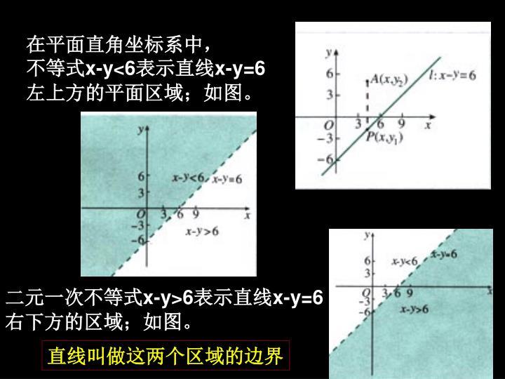 在平面直角坐标系中,