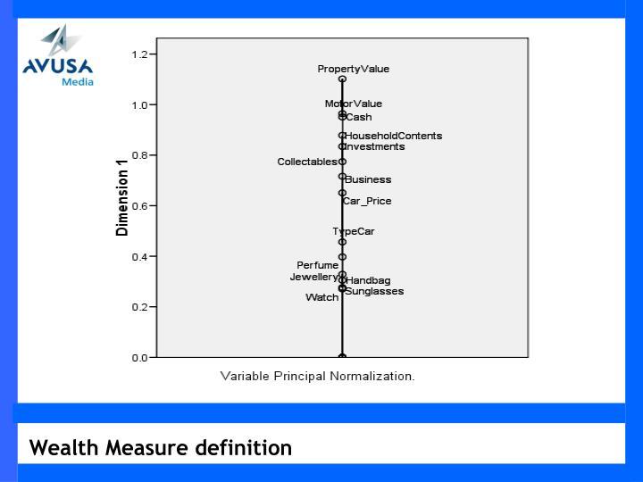 Wealth Measure definition