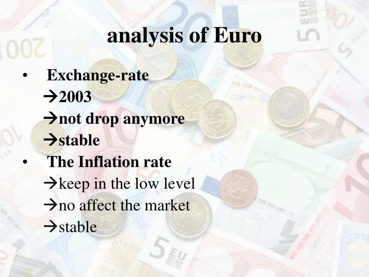 analysis of Euro