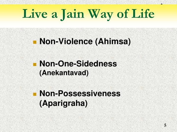 Live a Jain Way of Life