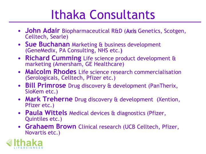 Ithaka Consultants