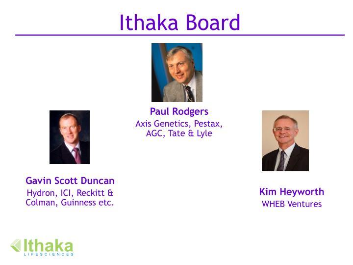 Ithaka Board