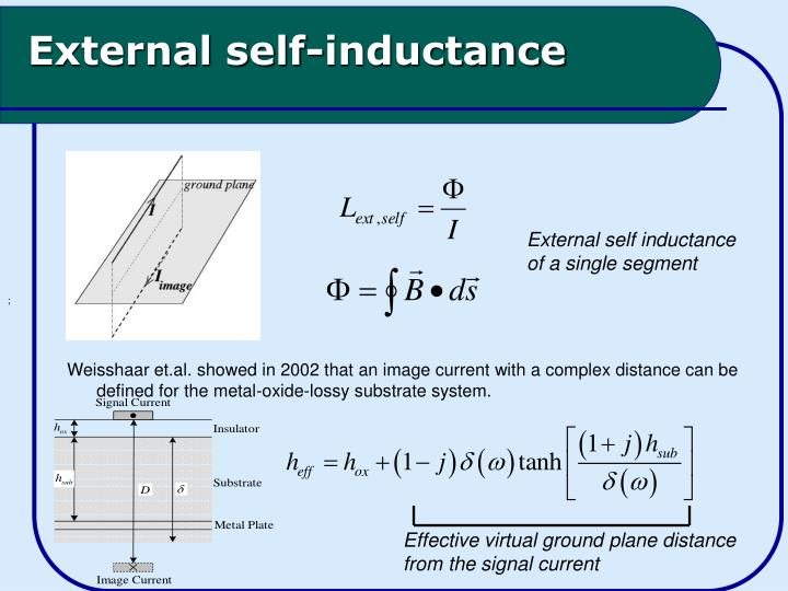 External self-inductance