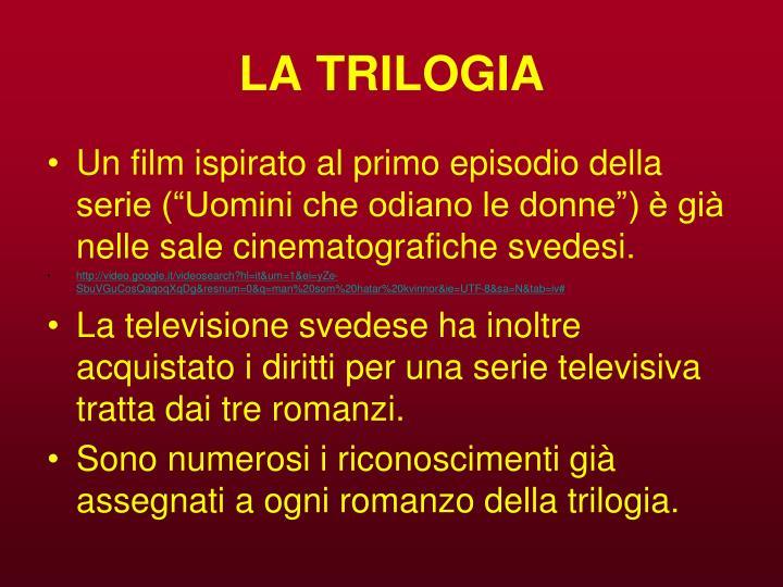 LA TRILOGIA