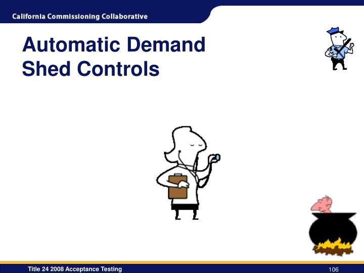 Automatic Demand