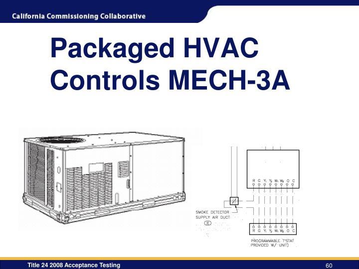 Packaged HVAC Controls MECH-3A