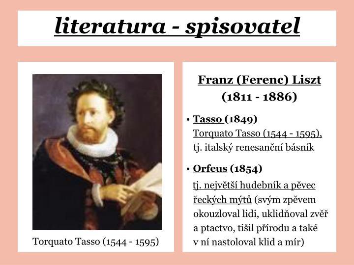 Torquato Tasso (1544 - 1595)