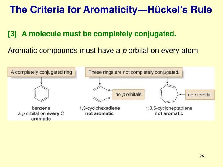 The Criteria for Aromaticity—H