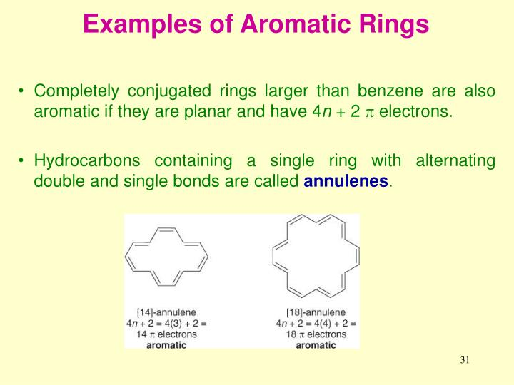 Examples of Aromatic Rings