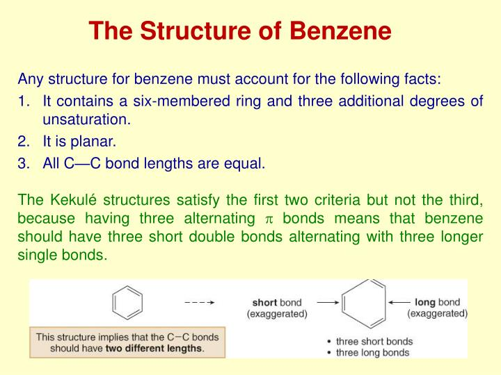 The Structure of Benzene