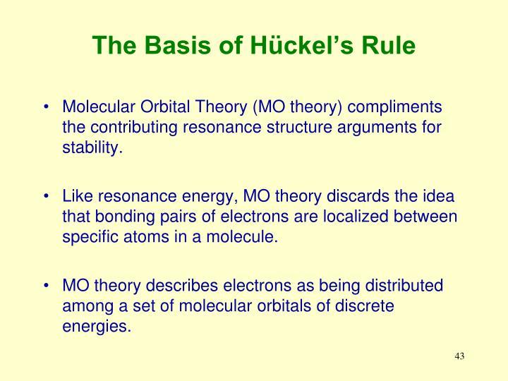 The Basis of Hückel's Rule