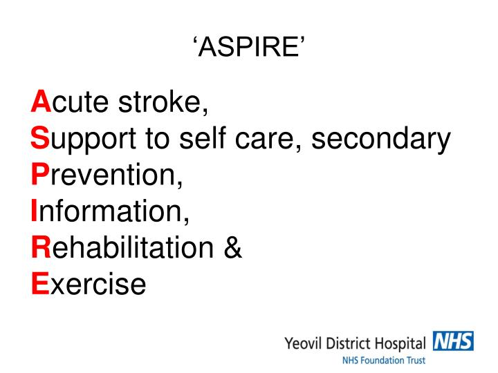 'ASPIRE'