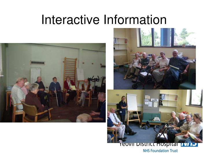 Interactive Information