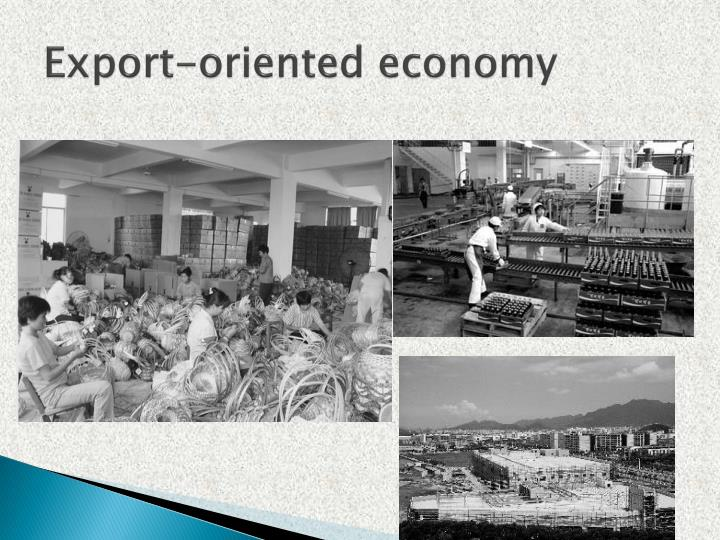 Export-oriented economy