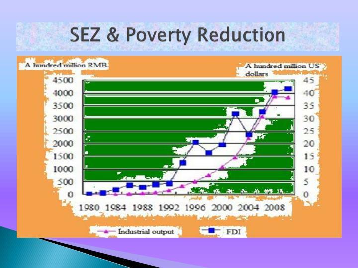 SEZ & Poverty Reduction
