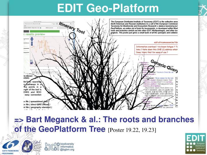 EDIT Geo-Platform