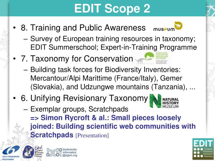 EDIT Scope 2