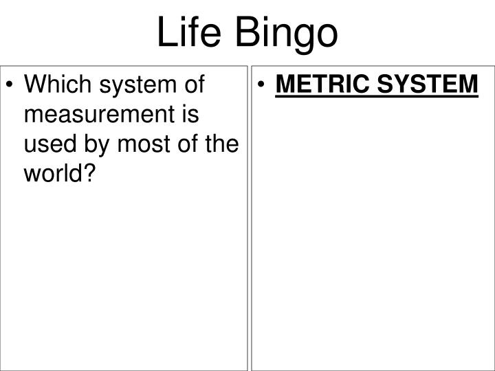 Which system of measurement is used by most of the world?
