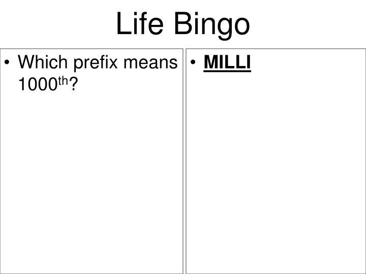 Which prefix means 1000
