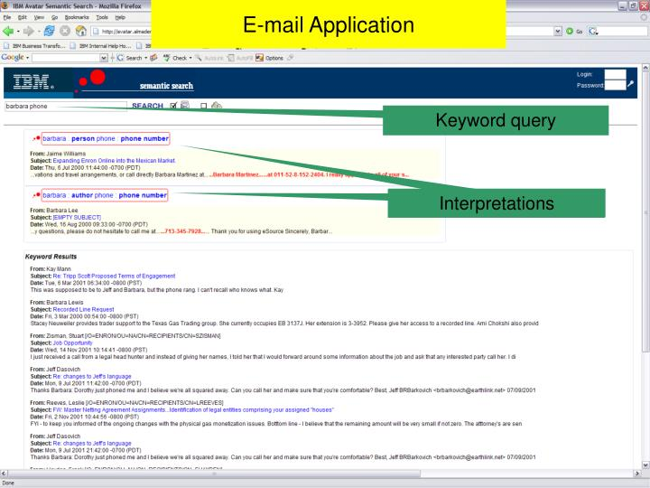 E-mail Application