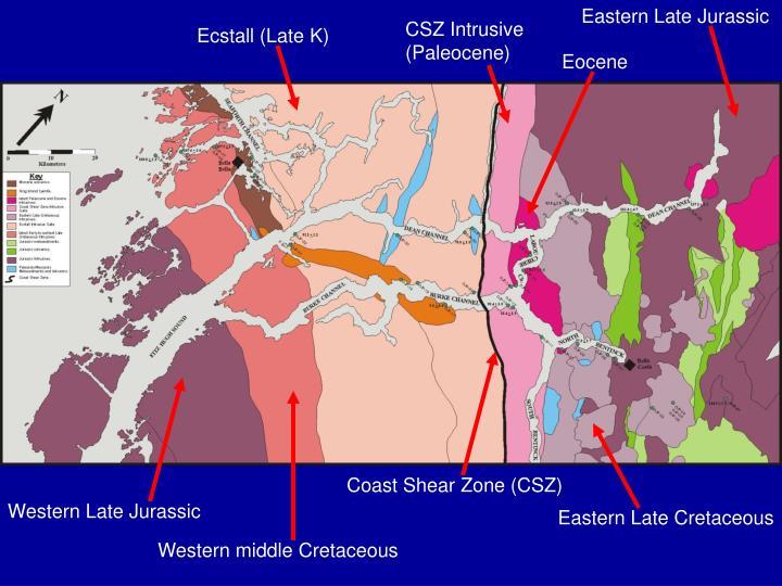 Eastern Late Jurassic