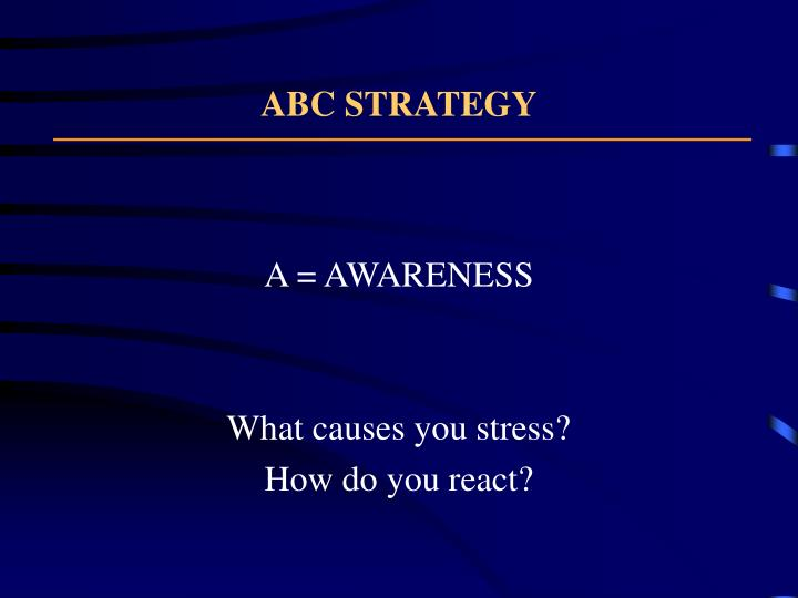 ABC STRATEGY