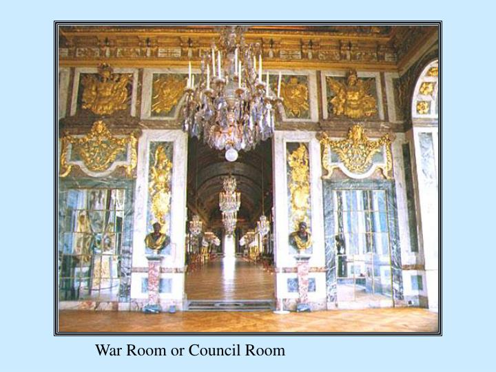 War Room or Council Room