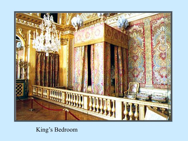 King's Bedroom