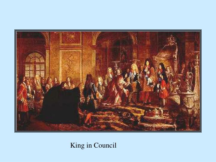 King in Council