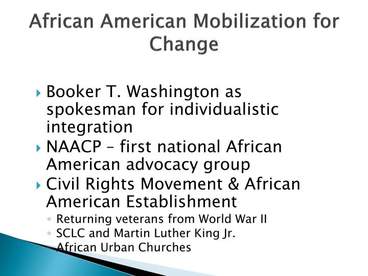 African american mobilization for change