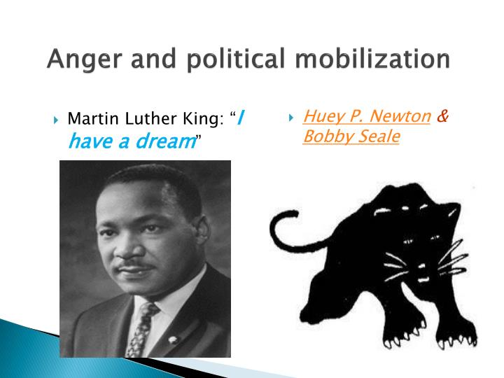 Anger and political mobilization