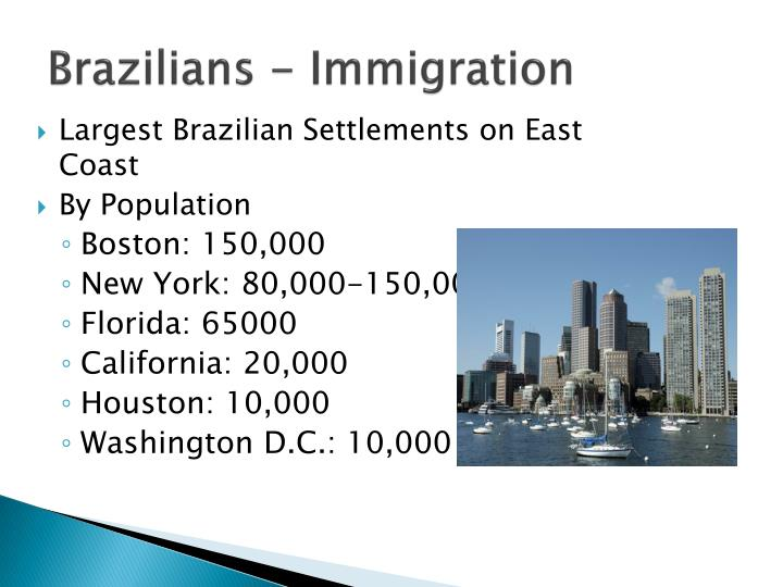 Brazilians - Immigration