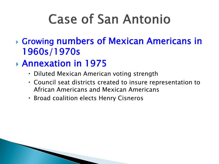 Case of San Antonio