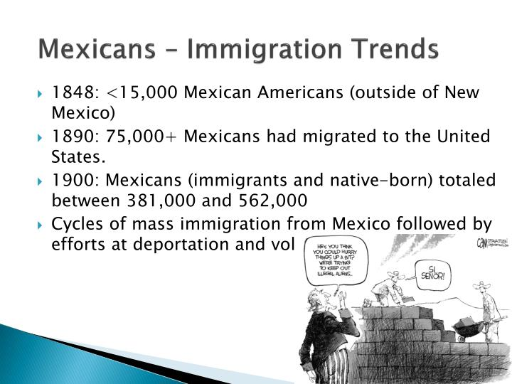 Mexicans – Immigration Trends