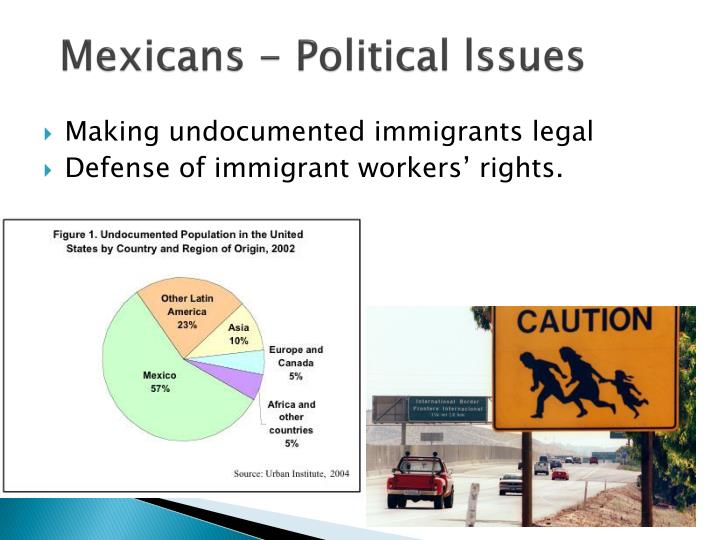 Mexicans - Political lssues