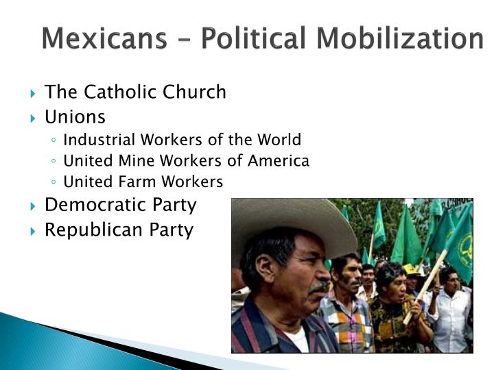 Mexicans – Political Mobilization