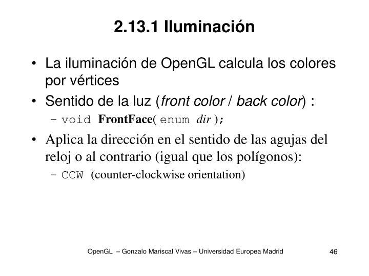 2.13.1 Iluminación