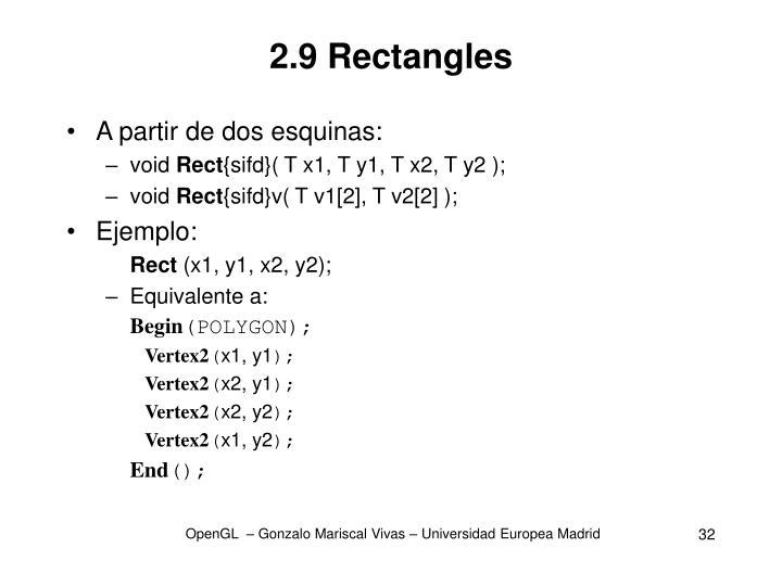 2.9 Rectangles
