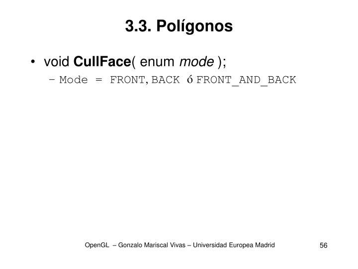 3.3. Polígonos