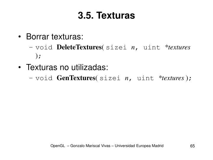 3.5. Texturas