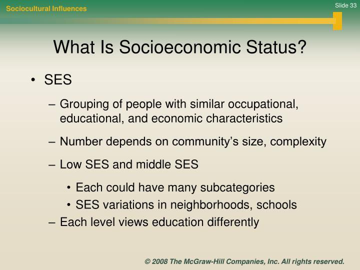 Sociocultural Influences