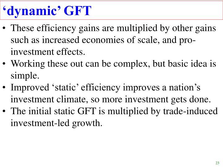 'dynamic' GFT