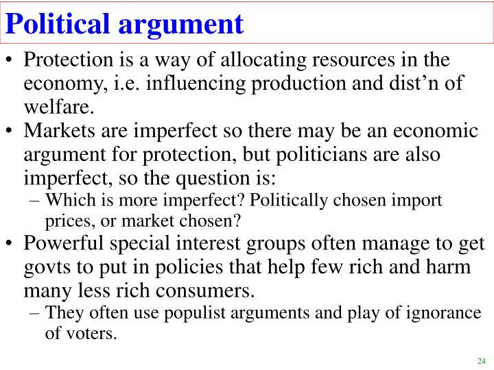 Political argument